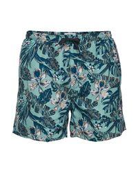 Only & Sons Swim Shorts Aop2 Gd 6137 in het Blue voor heren