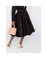 Skirt Negro Prada de color Black