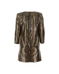 Dress Marrón Saint Laurent de color Brown