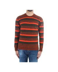 Drumohr Sweaters Man in het Brown voor heren