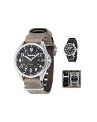 Tblgs14829Js02As_A Watch di Timberland in Gray da Uomo