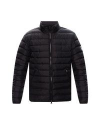 EA7 Quilted down jacket in Black für Herren