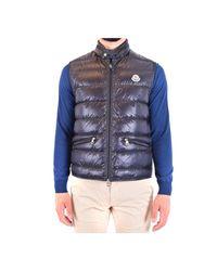 Moncler Vest in het Blue voor heren