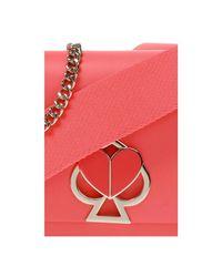 Nicola Twistlock shoulder bag Rojo Kate Spade de color Red