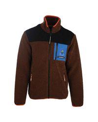 Scotch & Soda Colourblock Jacket in het Brown voor heren