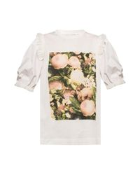 Moncler Genius T-shirt Van Simone Rocha in het White