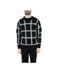 Dries Van Noten Marcel Sweater in het Black voor heren