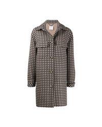 Stella McCartney Coat in het Brown