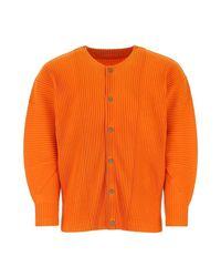 Knitwear Issey Miyake pour homme en coloris Orange