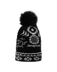 Desigual Hat in het Black