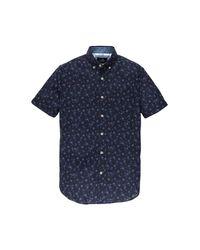 Vanguard Overhemd Print in het Blue voor heren