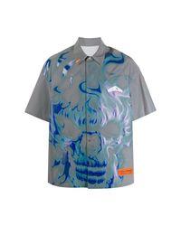 Heron Preston Shirt in het Gray voor heren