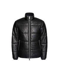 Armani Exchange Down Jacket in het Black voor heren
