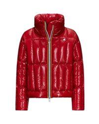 K-Way Jacket in het Red