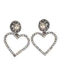 Alessandra Rich Women's Accessories Jewelry in het White