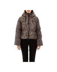 Michael Kors Puffer Jacket in het Brown