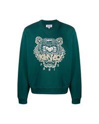 KENZO Sweatshirt in het Green voor heren