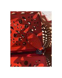 Sac à main Vienne Burberry en coloris Red