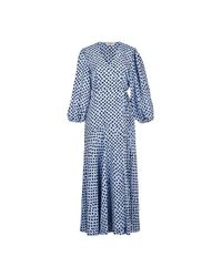 Essentiel Antwerp Vanessa Dress in het Blue