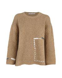 Sweater di Saverio Palatella in Natural