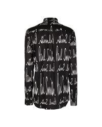 Camisa Negro Paul Smith de color Black
