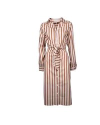 Silvian Heach Bogomoro Striped Dress in het Natural