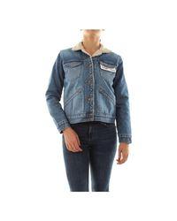 Wrangler Jacket in het Blue
