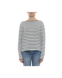 Allude Sweater in het White