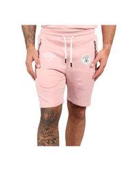 BLACK BANANAS F.c Basic Short in het Pink voor heren