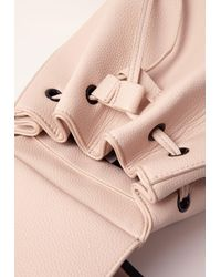 Missguided - Multicolor Simple Drawstring Backpack Nude - Lyst