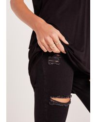 Missguided - Metallic Star And Moon Ring Pack Gold - Lyst