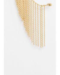Missguided   Metallic Gold Chain Drop Earrings   Lyst