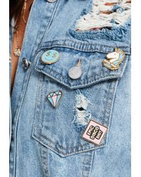 Missguided   Multicolor Epic Disco Sh*t Enamel Pin Badge Pack   Lyst