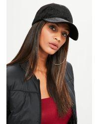 Missguided - Black Faux Pony Fur Cap for Men - Lyst