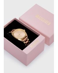 Missguided Metallic Gold Analogue Two Tone Bracelet Strap Watch
