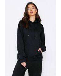 MissPap Black Off Limits Oversized Hooded Sweatshirt