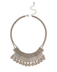 Miss Selfridge | Metallic Gold Tassle | Lyst