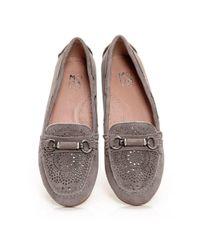 Moda In Pelle - Gray Esma - Lyst
