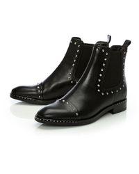 Moda In Pelle - Natalio Black Leather - Lyst
