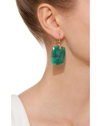Annette Ferdinandsen - Green M'o Exclusive: One-of-a-kind Emerald And Black Diamond Coral Branch Earring - Lyst