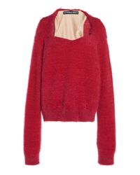 Y. Project Red Bra Knit Pullover