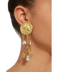 Lulu Frost - Metallic M'o Exclusive Vintage Crystal And Star Bead Earrings - Lyst