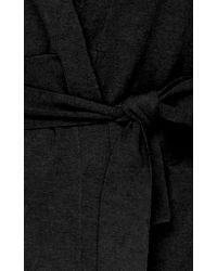 Palmer//Harding Black Embrace Wrap Cardigan