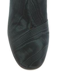 Ellery - Black Moire Ankle Boot - Lyst