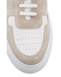 Common Projects White Bball Two-tone Leather Sneakers for men