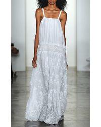 Houghton White Apple Gown