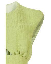 Emilia Wickstead Green Sisily Jumpsuit