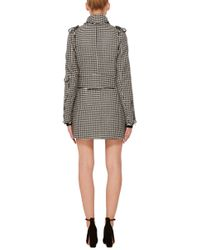 J.W.Anderson - Black Houndstooth Band Jacket - Lyst