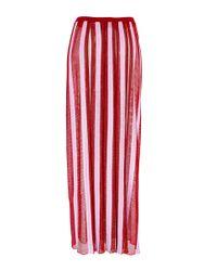 Missoni - Red Clove Multicolor Skirt - Lyst