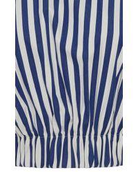 Solace London Multicolor Bella Striped Crop Top